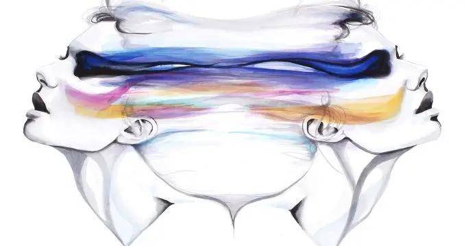 艺术家克里斯蒂娜·莱塔:叛逃芭比水彩肖像