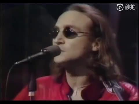 约翰·列侬罕见《Imagine》1975年现场版!