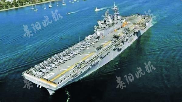 美军两栖戒备群进入南海活动
