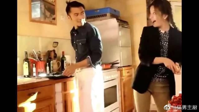 谢霆锋和赵薇做饭,画面太美了!快来看看吧!