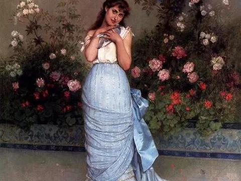 莫奈堂兄 奥古斯特笔下的奢华风格女性,诠释优雅之美!