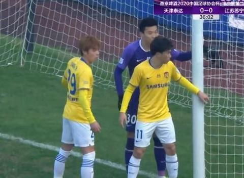 苏宁0-0战平泰达,苏亚雷斯破门无效,郑凯木逃过红牌