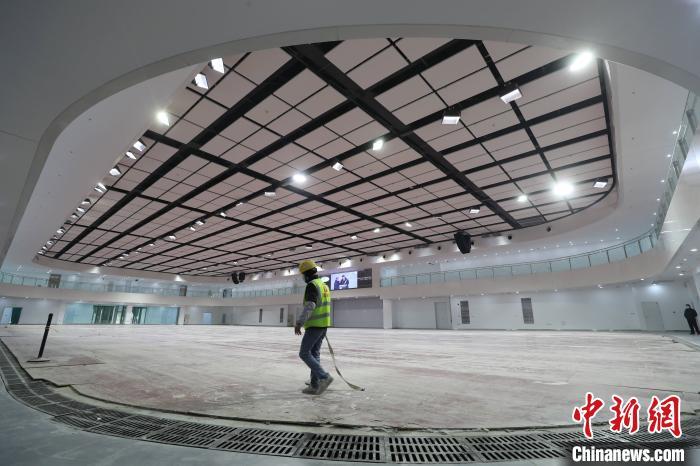 国度体育馆将承当2022年冬奥会冰球比赛使命。北京市严重办供图
