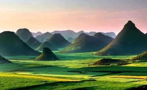 """在云南,有一种美叫做""""坝子"""",是云南人最七彩斑斓的梦"""