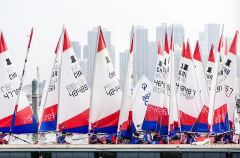 2020中国杯青少年帆船赛在深圳南山开赛