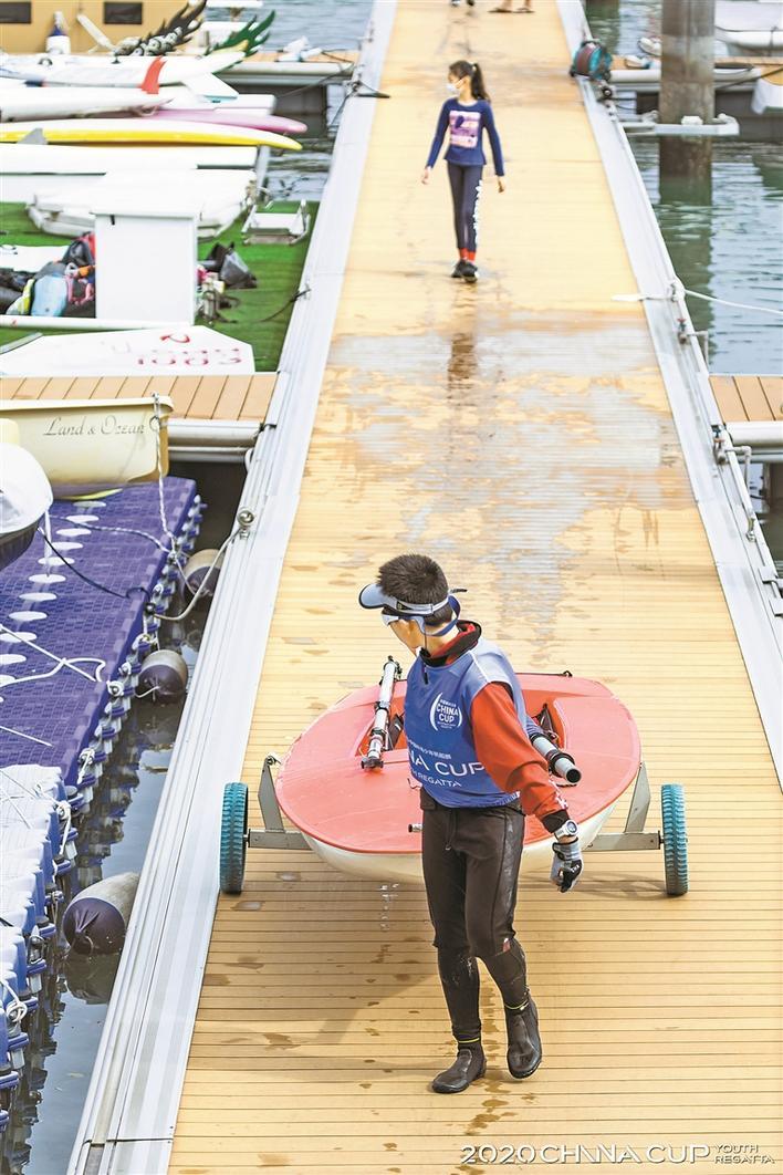 中国杯建帆船青少年人才成长通道