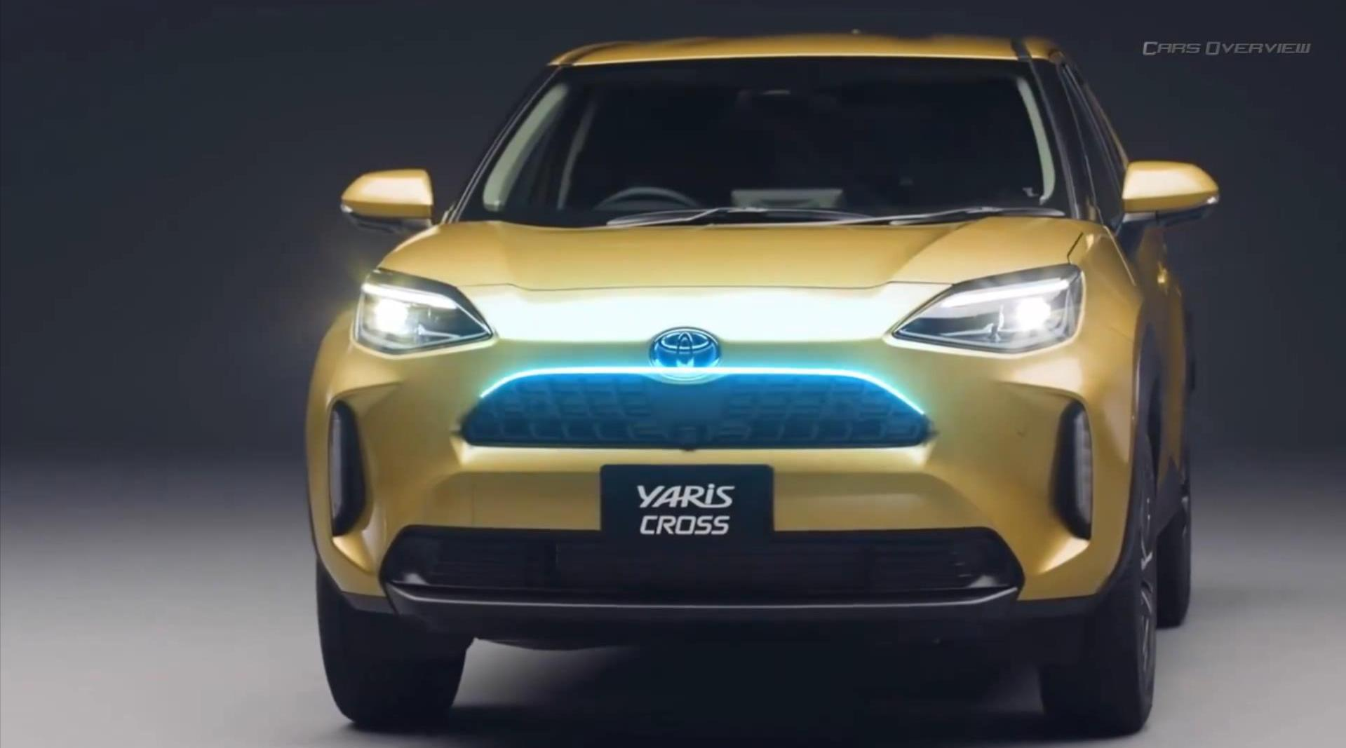 2021款丰田全新雅力士Yaris Cross亮相!同级别仅有的混动四驱SUV