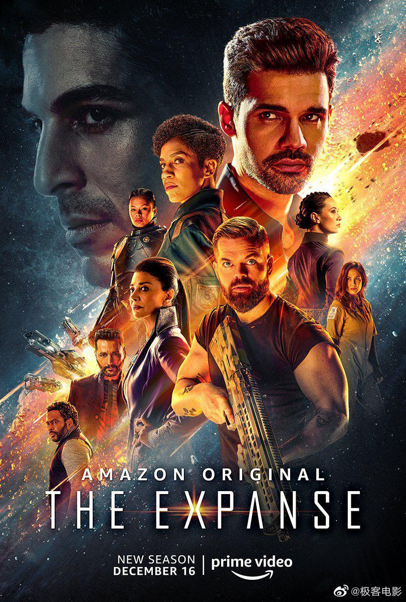 Amazon Prime Video 太空科幻剧集《苍穹浩瀚》……