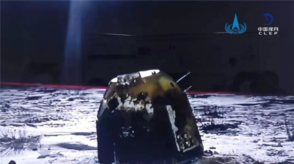 俄罗斯专家评价嫦娥五号任务顺利完成:真太棒了!图片