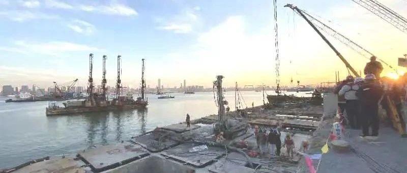 大连湾海底隧道最新进展!