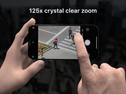 iPhone13Pro概念图:光学变焦高达125倍,摄像头可拆卸更换
