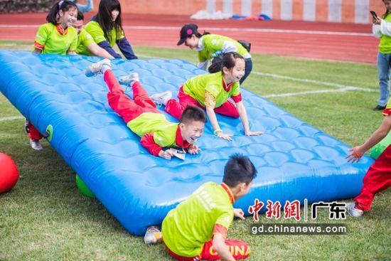 广州举办户外运动亲子营地嘉年华