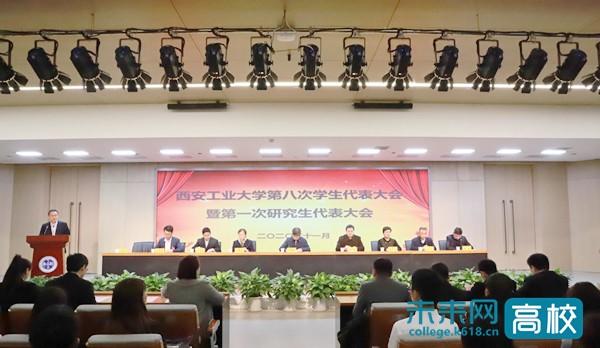 西安工业大学召开第八次学生代表大会暨第一次研究生代表大会
