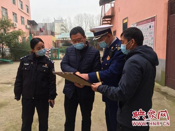 驻马店城乡一体化示范区消防救援大队开展消防安全检查工作