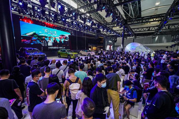 好物来袭潮玩世界 长城汽车登陆广州车展演绎焕新企业文化
