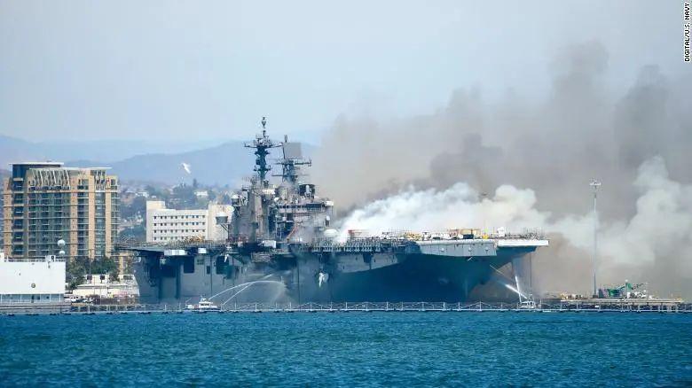 一把火烧掉12亿美元,美军做了个决定。图片