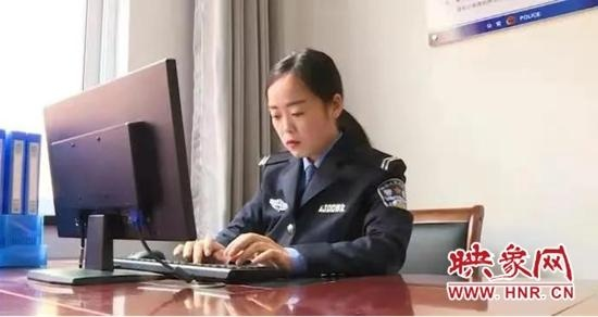 宜阳民警张倩辉:任重道远奉丹心 脚踏实地服务为民