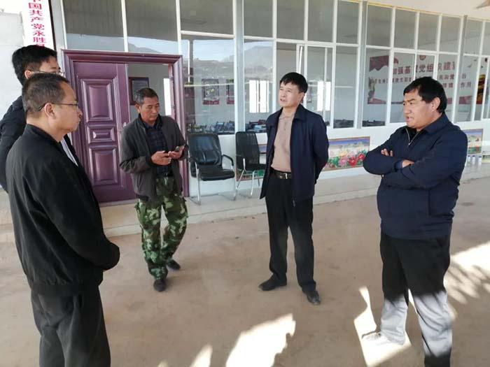 丽江市政府领导到永胜调研重点项目建设工作