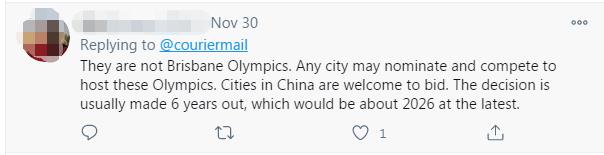 中国城市刚提出申办奥运设想 澳大利亚人又敏感了图片