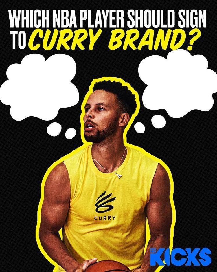 露天看台:库里个人品牌计划签下一些NBA球员及其他联盟运动员