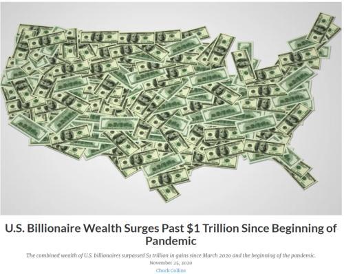 疫情致富?3月来美国富人财富激增万亿美元 马斯克身家飙升400%!