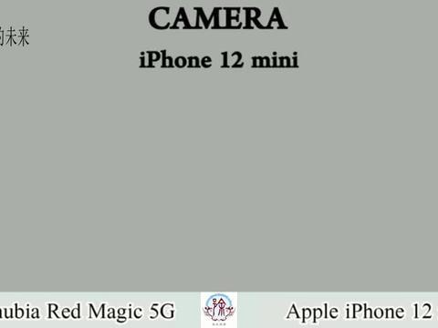 美国苹果12MINI对比中国中兴Nubia Red Magic