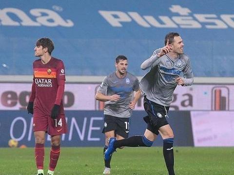 意甲:亚特兰大4-1逆转罗马,伊利契奇梅开二度,哲科破门