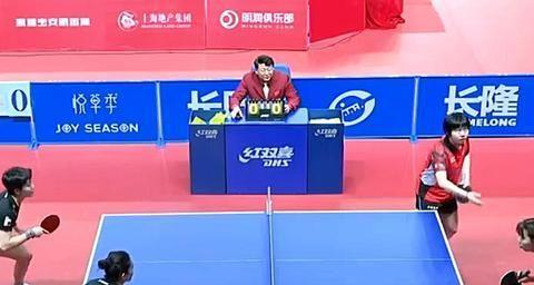 郑怡静一胜一负,田志希两胜,世界联队3-1黑龙江,赢乒超首胜