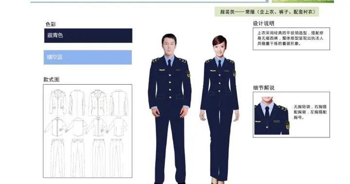 6支综合行政执法队伍制服统一式样 历史上尚属首次