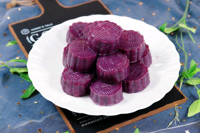 3个紫薯,1根山药,1碗面粉,做出美味糯米糕,比买的吃多了