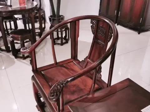 简洁而又不简单的圈椅,值得一赏