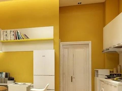 表妹35㎡小公寓:全屋柠檬黄活力满满,收纳无敌让家更舒坦,美!