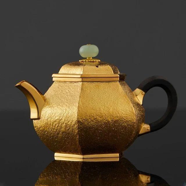 众筹丨999纯银、24K纯金手作茶壶,非遗大师母炳林出品