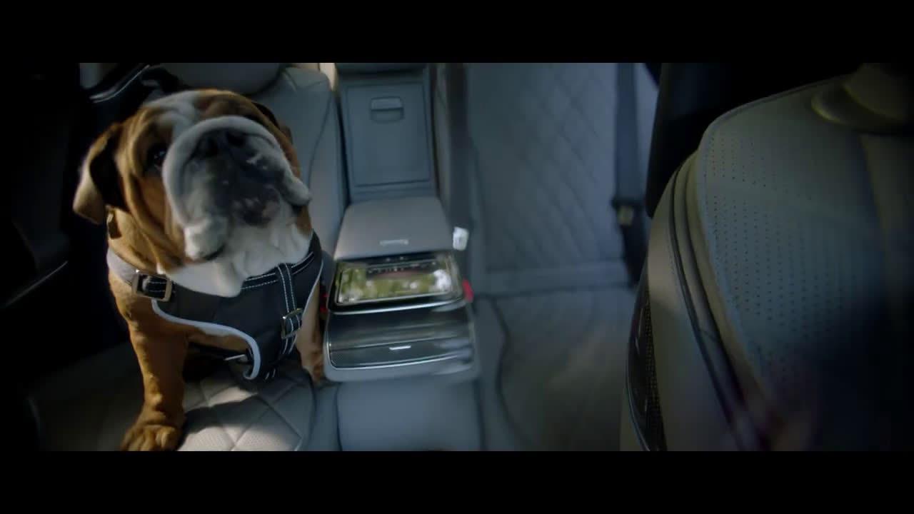 F1新七冠王拍摄的梅赛德斯新S级广告……