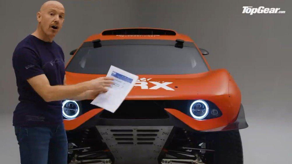 勒布2021款达喀尔赛车:BRX Hunter介绍……