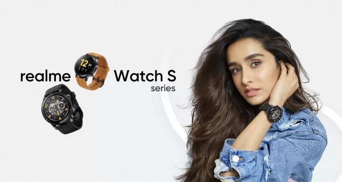 realme Watch S Pro发布:圆形表盘,支持血氧/实时心率检测