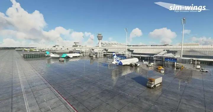 《微软飞行模拟》现已推出慕尼黑机场插件包