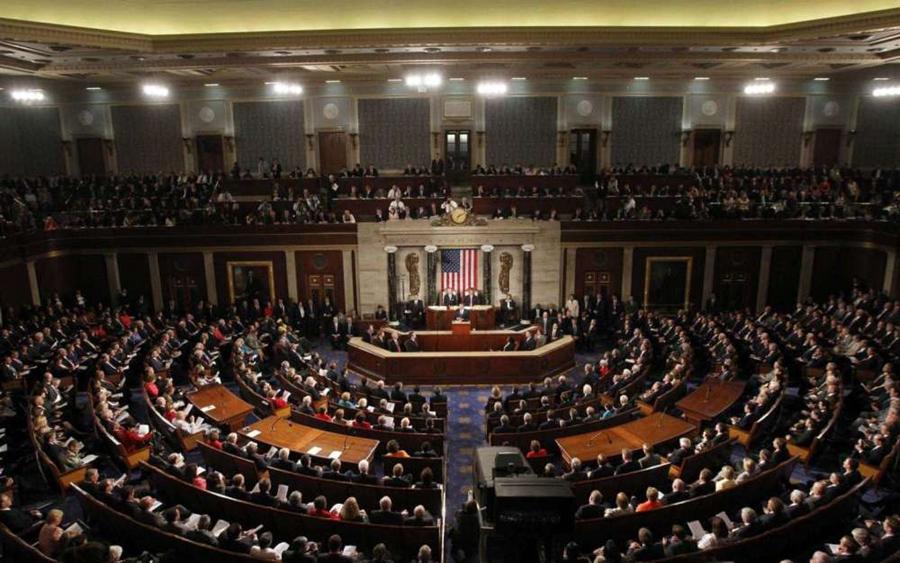 """美国会两院通过""""台湾保证法""""鼓吹""""常态对台军售"""""""