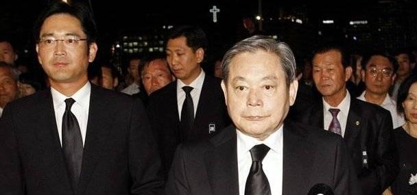 三星会长李健熙股票遗产税额创韩国历史新高