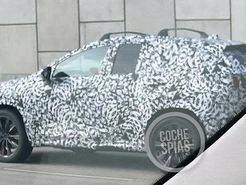 后驱加持 定位高性能轿跑SUV 马自达CX-50谍照曝光