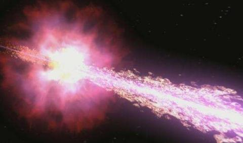 距地134亿光年,最古老的伽马射线暴被发现,爆发瞬间极度震撼