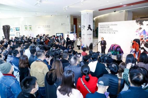 韩美林艺术展燃爆深圳 永新华控股集团董事局主席李永军受邀出席