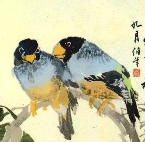 任伯年花鸟:简逸放纵,明净淡雅
