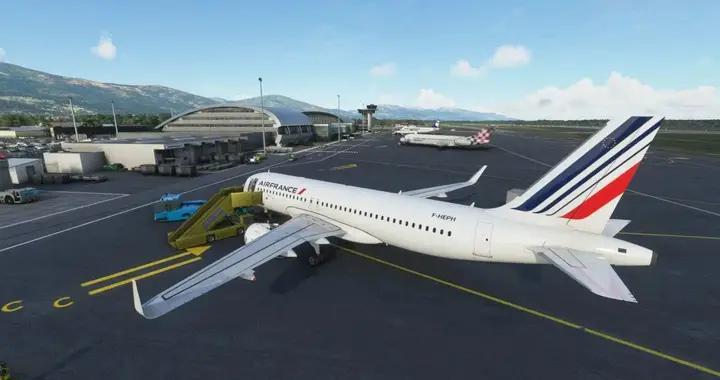 《微软飞行模拟》推出巴斯蒂亚机场插件包