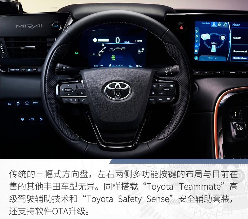 新能源的另一条路线 解读丰田燃料电池车Mirai