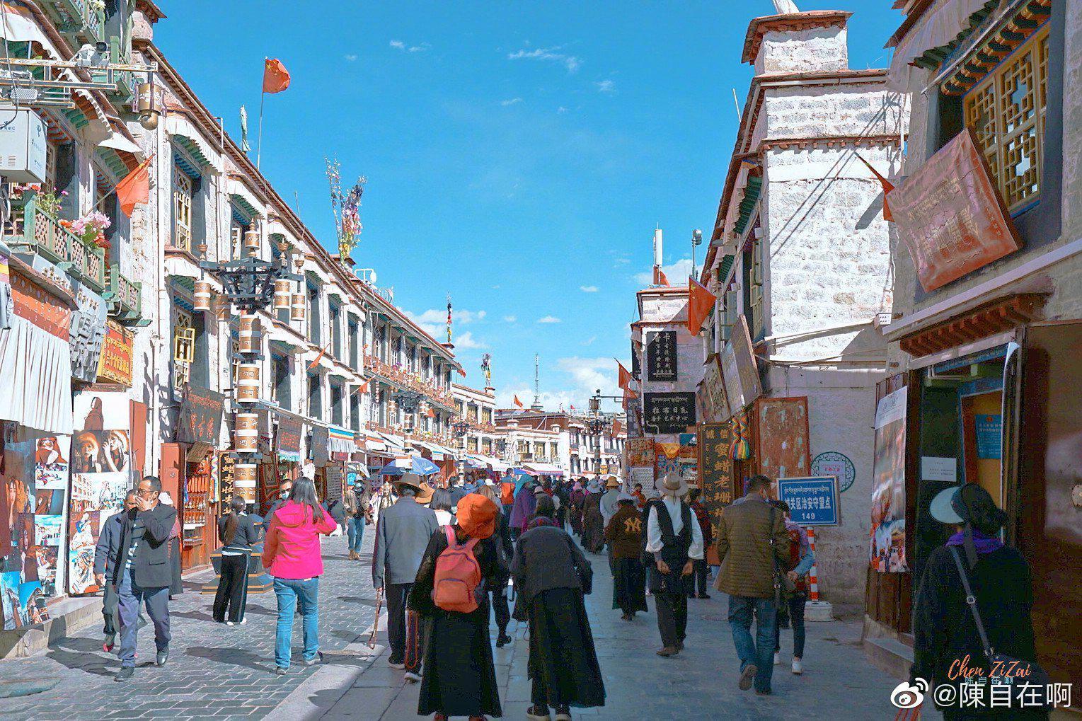 拉萨·八廓街 都说人的一生一定要去一次西藏 那么,你去过吗?……