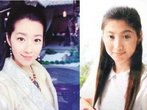 TVB当红花旦童年照曝光,朱千雪从小靓到大,陈自瑶完美女神