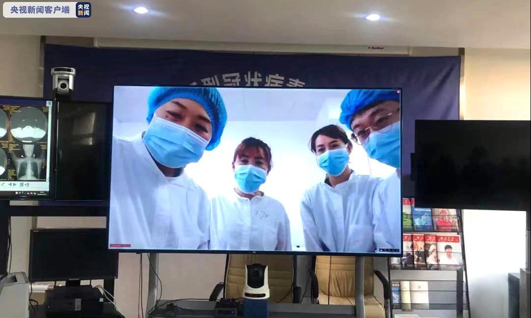 大连隔离病房内,进行了全国首个新冠肺炎感染者参加的考试图片