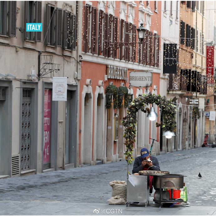 意大利进入封城状态,将持续至明年1月6日