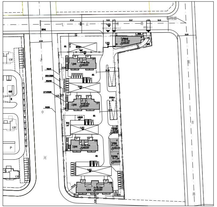 这两个地块的征收安置房项目规划设计方案正在公示